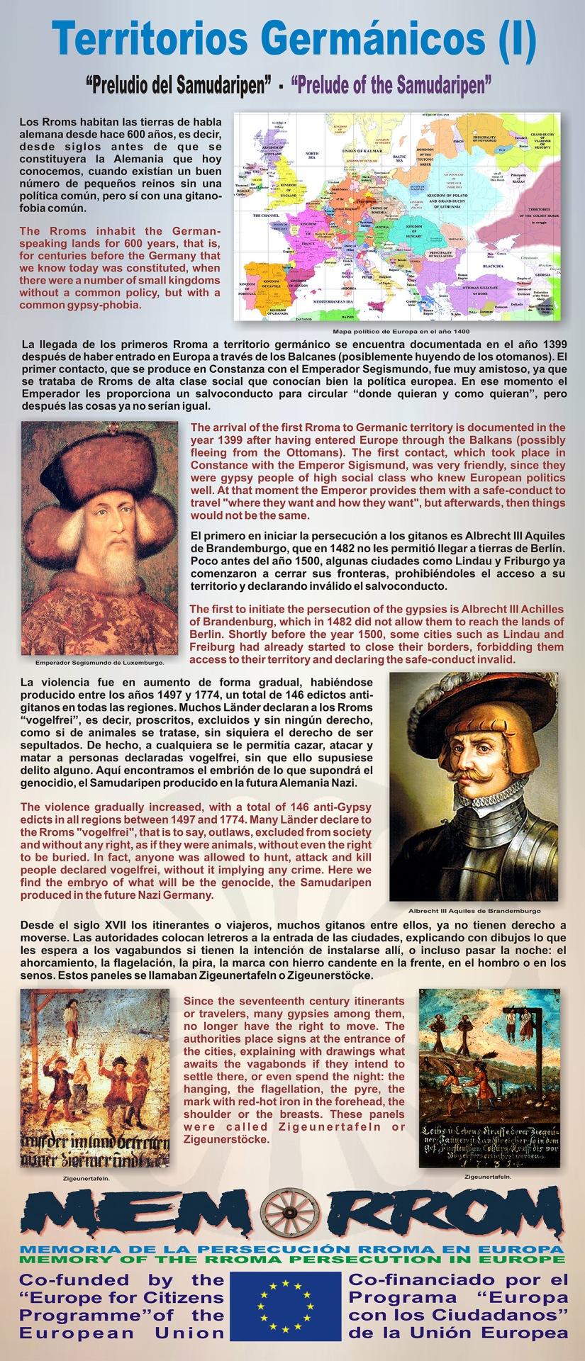 TERRITORIOS GERMÁNICOS I